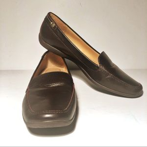 Coach Danae Women's Brown Leather Loafers